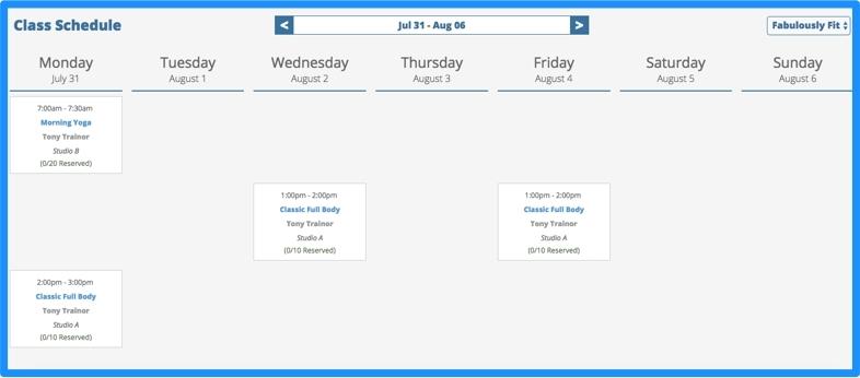 Create class schedules.